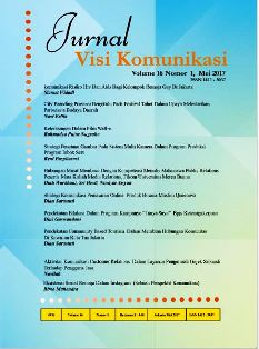 Image result for jurnal visi komunikasi